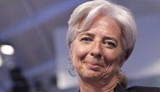 La directora gerente del FMI, Christine Legarde