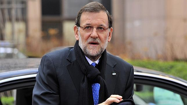 Mariano Rajoy en una de sus visitas a Bruselas