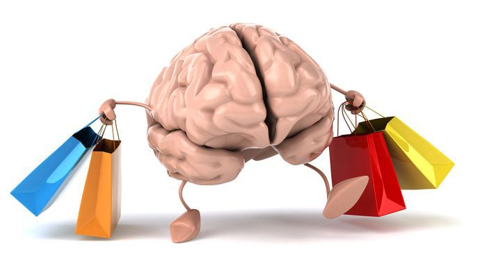 Cerveau et shopping