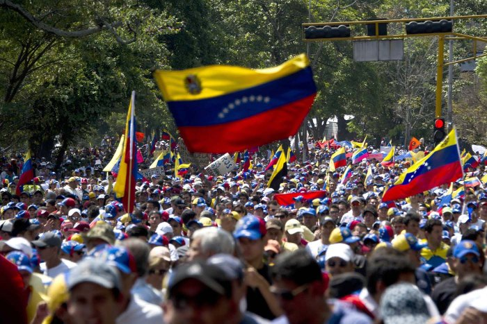 VENEZUELA-POLITICS-OPPOSITION-PROTEST