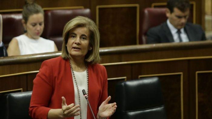 La ministra de empleo, Fátima Báñez, defiende que España lidera la creación de empleo a tiempo completo en Europa. _15_1000x564