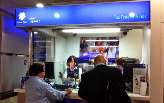 Resultado de imagen de tax free airport oficina devolucion